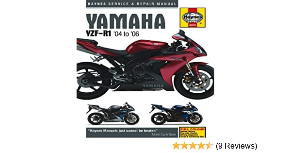 yamaha yzf r1 04 to 06 haynes service and repair manuals rh amazon com 2013 yamaha r1 owners manual pdf 2013 yamaha yzf-r1 owner's manual