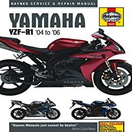 yamaha yzf r1 04 to 06 haynes service and repair manuals rh amazon com 2013 yamaha r1 service manual 2013 yamaha yzf-r1 owner's manual