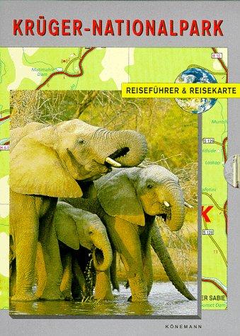 Krüger- Nationalpark. Reiseführer und Reisekarte 1 : 200 000