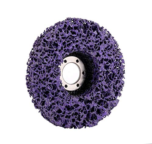 "Paint /& Rust Stripping Cup Wheel 4 1//2/"" x 7//8/"" Benchmark Abrasives 10 Pack"