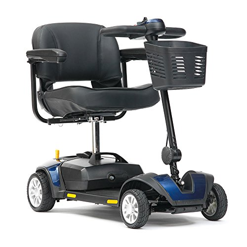 Livewell Jaunt 4mph Portable Travel Car Boot Mobility Scooter (Blue)