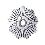 24-in. Mirrored Medallion in Silver with Clear Mirror MD400D24SC (24-in.)