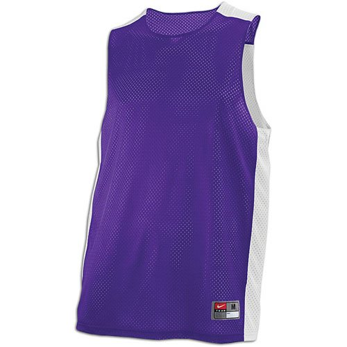 (NIKE Hustle Reversible Basketball Purple Jersey Tank Sz XXL )