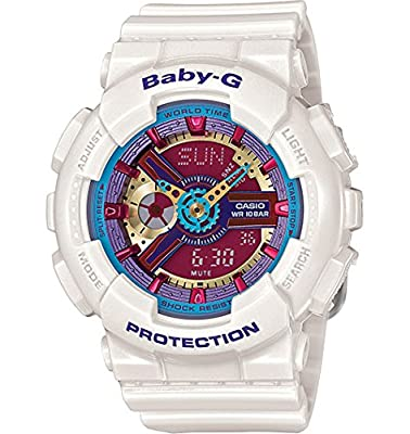 Casio - Baby-G - Street Fashion Neon Color - White - BA112-7A