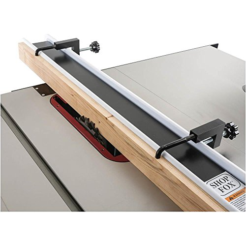 Shop fox d4586 table saw fence clamp set of 2 nielsen wood working Table saw fence reviews