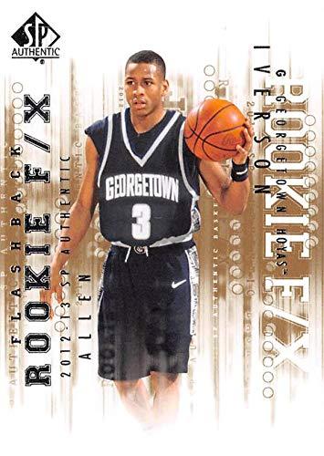 Allen Iverson Basketball Card Georgetown Hoyas 2013 Upper