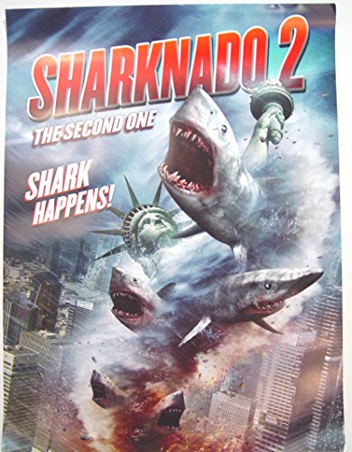 Sharknado 2 Poster Approx. 18 x 24 inches Comic Con 2014 Exclusive from Sharknado