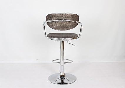 Cqq sedie a sdraio sedia alta da bar sedia alta rotazione sedia