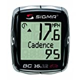Sigma Sport BC16.12 STS CAD Double Wireless 16 Function Bicycle Computer with Cadence
