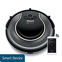 Shark ION Robot Vacuum WIFI-Connected, Voice Control Dual-Action Robotic Vacuum Carpet and Hard Floor Cleaner, Works with Alexa (RV750) by SharkNinja