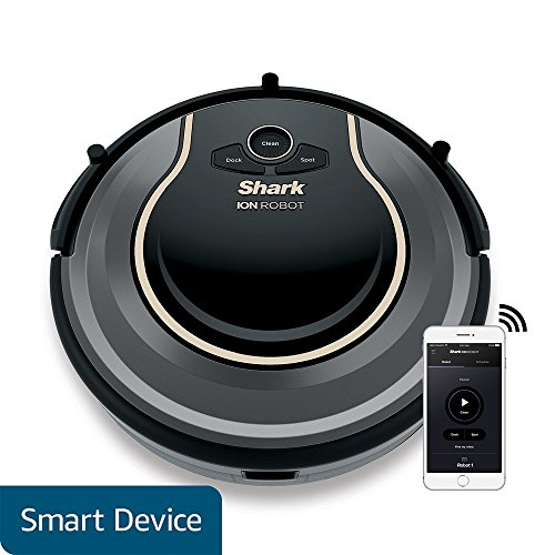 Large Product Image of Shark ION Robot Vacuum WIFI-Connected, Voice Control Dual-Action Robotic Vacuum Carpet and Hard Floor Cleaner, Works with Alexa (RV750)