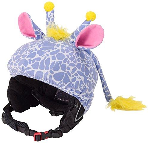 (CrazeeHeads Stretch The Giraffe Helmet Cover)