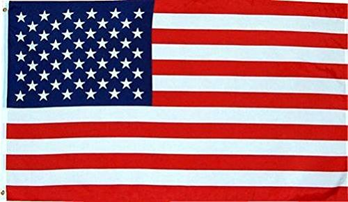 American Flag - Durable Outdoor Color-Vibrant Polyester 3' X 5' - Best Fabric for Weather Conditions and Sun Fading - Show your Pride!