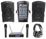 "Best Fender Pro Headphones - Fender PASSPORT CONFERENCE Powered 5.25"" PA DJ Speakers+Wireless Review"