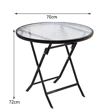 JU FU Table pliante de camping en plein air - petite table ...