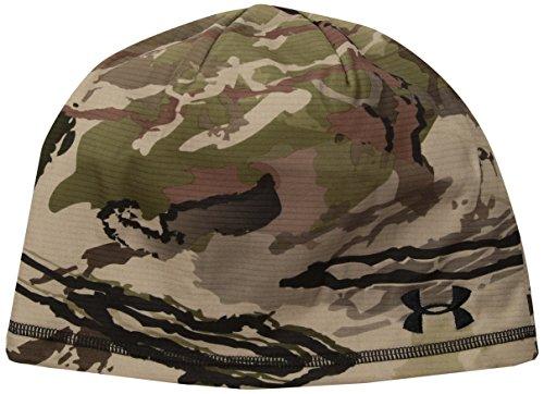 Under Armour Mens Reversible Fleece 2.0 Beanie, Ridge Reaper Camo Ba (901)/Black, One Size