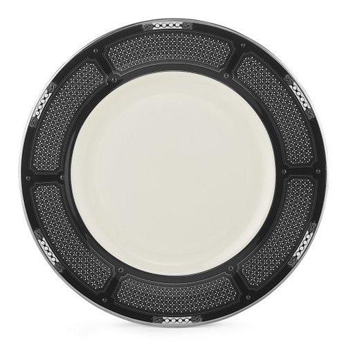 Lenox Hancock Platinum Ivory China 9 Accent Plate (9 Accent Ivory China Plate)