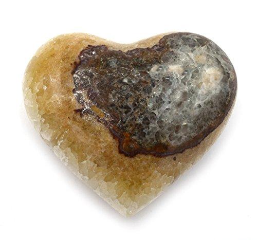 Rustic Serpentine Onyx Heart Figure, 3
