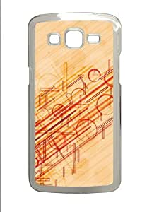 Lines and Circles Polycarbonate Hard Case Cover for Samsung Grand 2/7106 Transparent by mcsharks