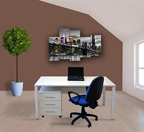 Mesa Oficina con Cajonera Lumen Nº10 - LuxoMobel: Amazon.es: Hogar