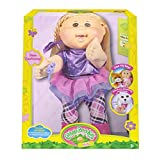 """Cabbage Patch Kids 14"""" Plush Doll: Blonde Hair/Brown Eye Girl (Rocker)"""
