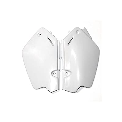 UFO HO03626041 Replacement Plastic (FOR HONDA SD CVR CR80 96-00 WHITE): Automotive