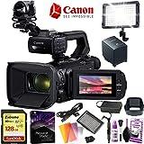 Canon XA50 Professional UHD 4K Camcorder 4K Video - 15x Zoom Lens - 128GB Memory - Video Editing Software Bundle