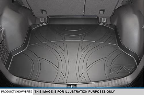 MAX LINER A0192//B0192//D0192 Custom Fit Floor Mats 2 Rows and Cargo Liner Set Black for 2015-2019 Ford Edge