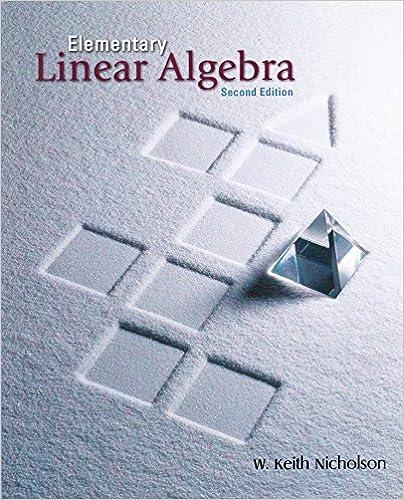 Elementary linear algebra keith nicholson 9780073018768 amazon elementary linear algebra 2nd edition fandeluxe Gallery