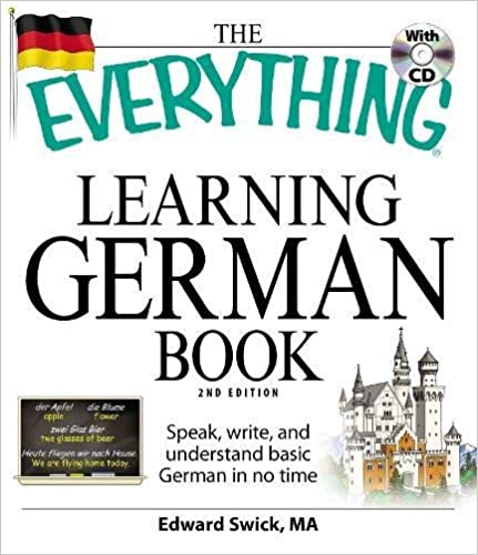 amazon com the everything learning german book speak write and