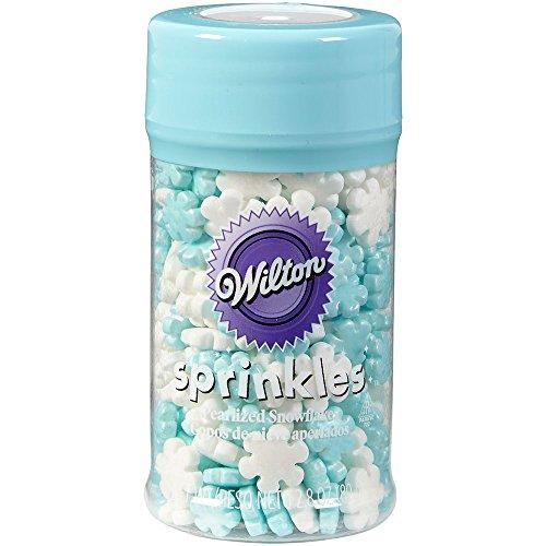 Jumbo & Mini Pearlized Snowflakes Sprinkles by Wilton (1, 2.8) for $<!--$3.99-->