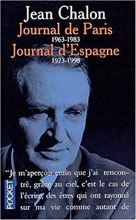 Journal de Paris - Journal d'Espagne par Jean Chalon