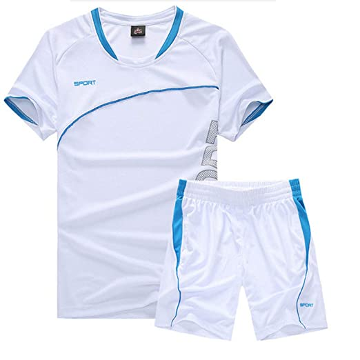 WYX Chándal Casual, Camisetas Y Pantalones Cortos para Correr ...