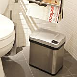 iTouchless 2.5 Gallon Sensor Garbage Can with