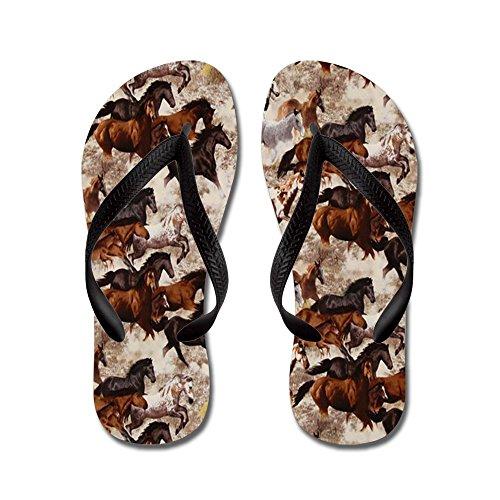 Pantaloni Da Cafepress Sbattimento - Infradito, Divertenti Sandali Infradito, Sandali Da Spiaggia Neri