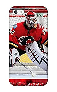 Iphone 5/5s Case Bumper Tpu Skin Cover For Calgary Flames (29) Accessories