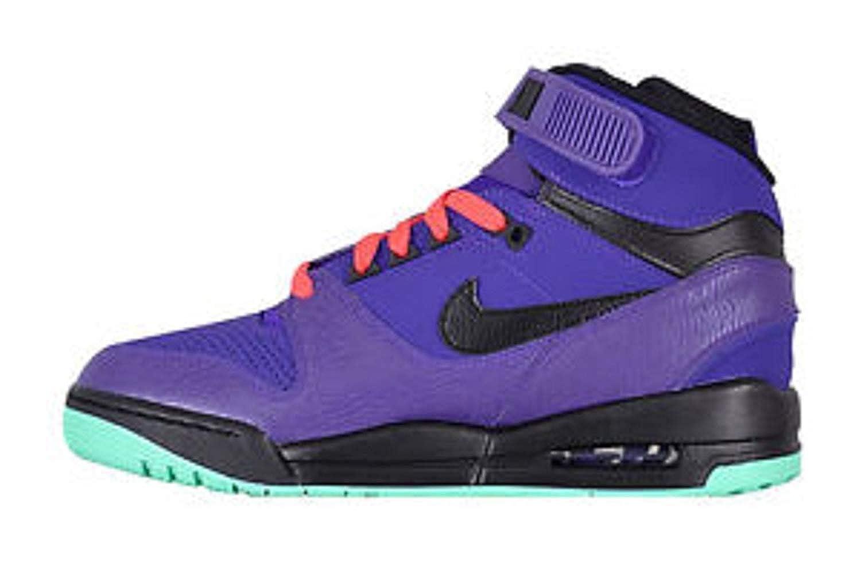 2fb8cd1f64989 NIKE Mens Air Revolution Basketball Shoes 599462-500 Purple/Teal ...