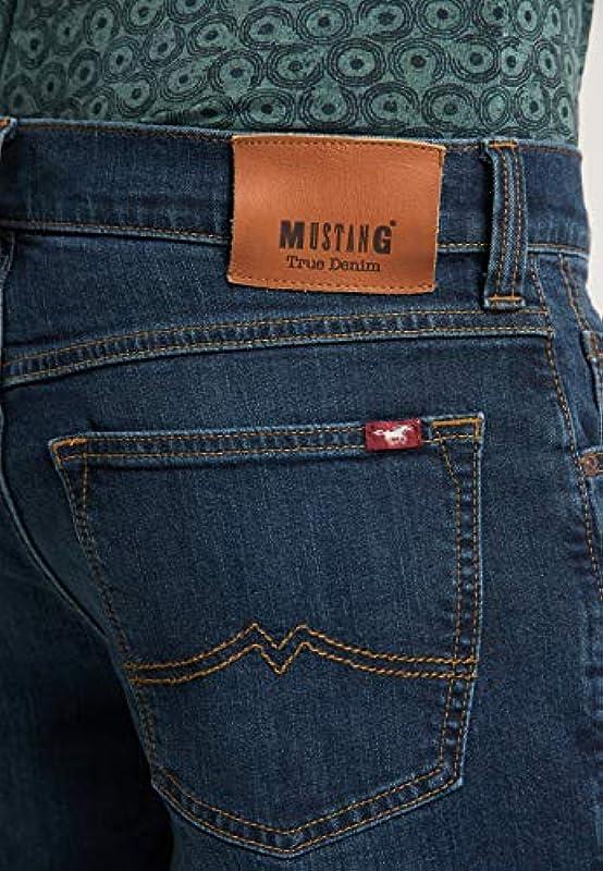 MUSTANG Męskie dżinsy Regular Fit Big Sur: Odzież