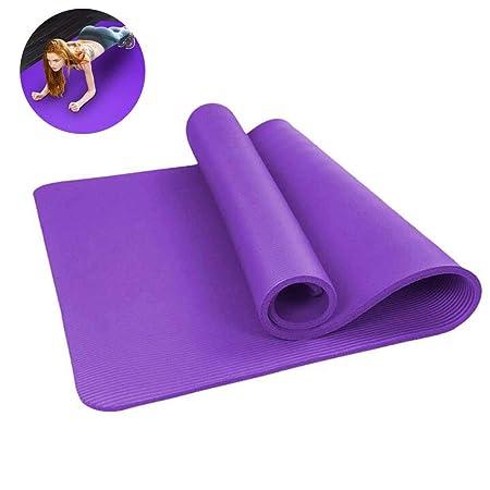 ZQQAZHH Colchoneta de Yoga de Viaje para Gimnasia Pilates ...