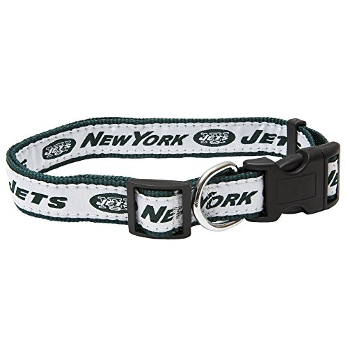 - Pets First NFL New York Jets Pet Collar, Small