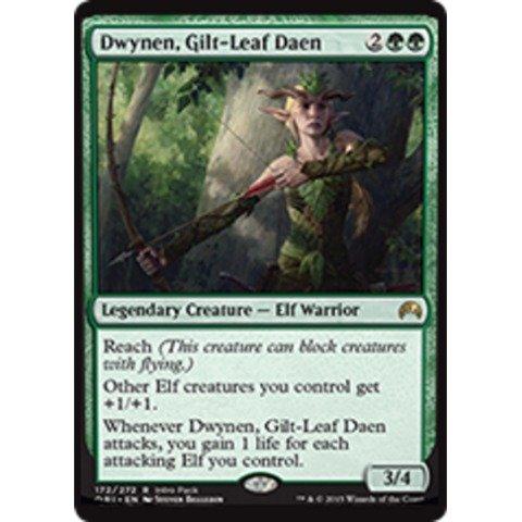 Gilt Foil (Magic: the Gathering - Dwynen, Gilt-Leaf Daen (172/272) - Unique & Misc. Promos - Foil)