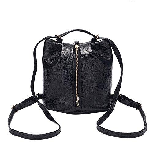à bandoulière Black VHVCX chaîne dos Sac Mode femmes Bagpack Voyage cuir Sacs Sac femmes Pu Petit à multifonctionnel bandoulière à en Bag wfwCZxnaq