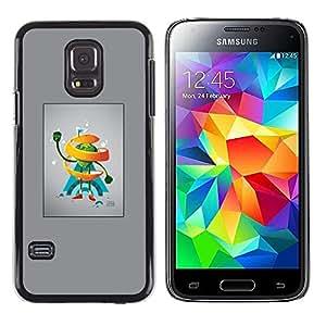 LECELL--Funda protectora / Cubierta / Piel For Samsung Galaxy S5 Mini, SM-G800 -- Abstract Frutas --