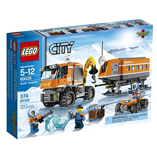 LEGO City Arctic Outpost 60035 Building Toy (Discontinued by (City Block Tires)