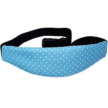 Cinturón de Seguridad de Coche para Niños Sujetadores de Cabeza para Bebés Soporte de Cabeza del