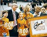 Autograph Warehouse 270622 Jim Boeheim Autographed 8 x 10 in. Photo - Syracuse University Orange Basketball Coach Win 800 Celebration PSA DNA Authentication - No. AA20636
