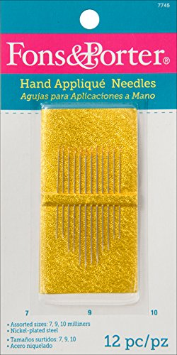 Fon & Porter Hand Appliqué Needles, Size 7, 9, 10, ()