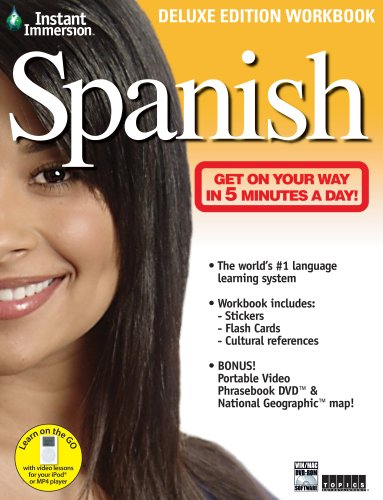 Instant Immersion Spanish - Deluxe Edition Workbook