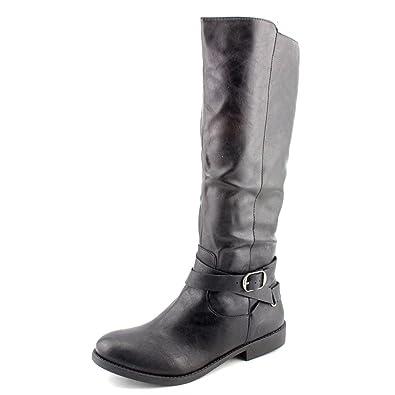 b49aa9b38da Style   Co. Womens Madixe Round Toe Mid-Calf Riding Boots