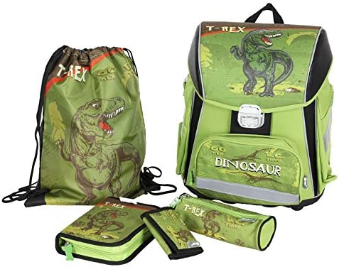 Tyrannosaurus Rex School Backpack and Pencil Case Set